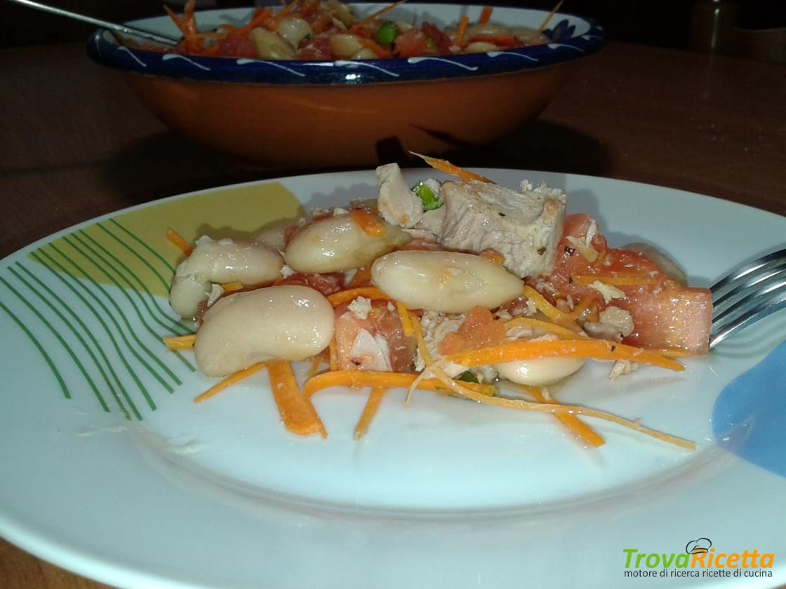 Insalata di fagioli spagna  #ricette #food #recipes