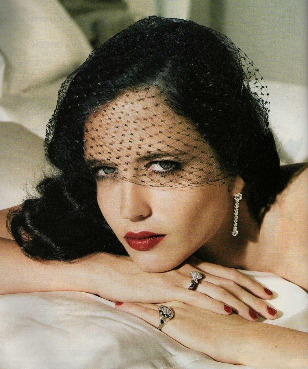 Eva Green photographed by Patrick Demarchelier for Glamour