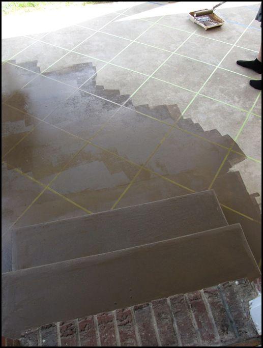 New U201cTileu201d Patio Floor Reveal