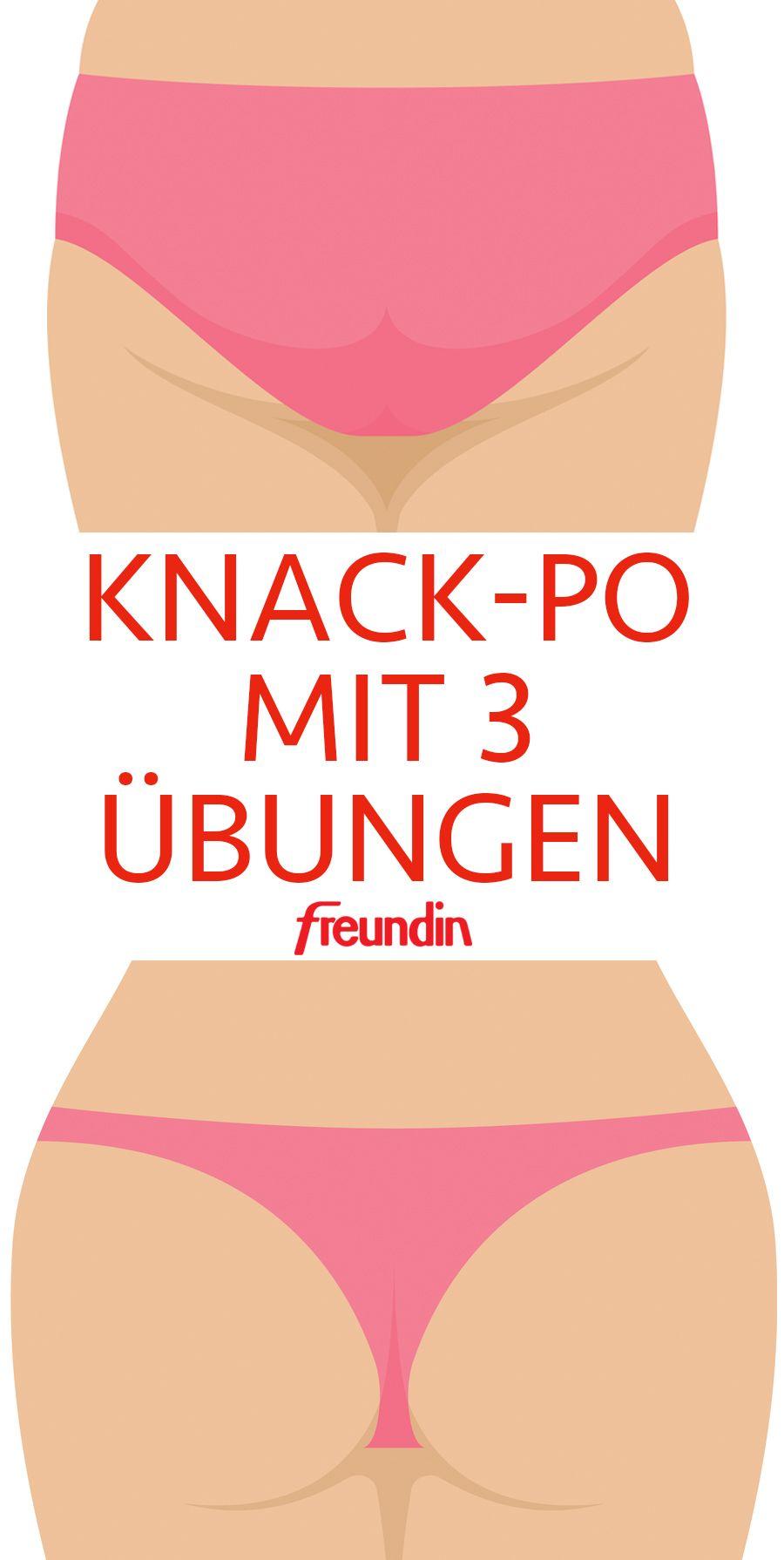 Photo of Gesäß knacken mit 3 Übungen