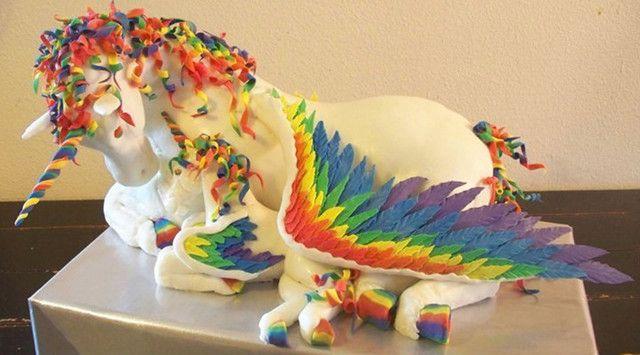 Unicorn Cake I would love to eat