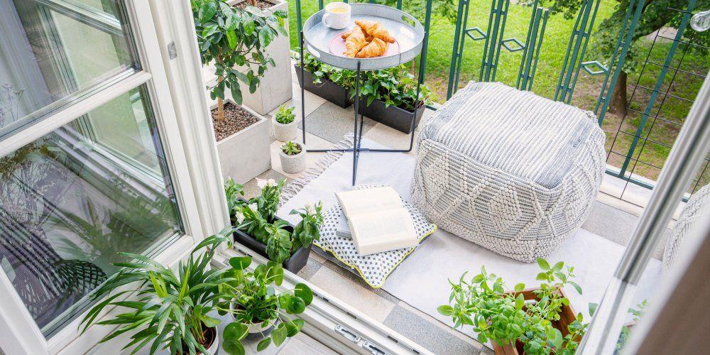 Quelles Plantes Choisir Pour Un Balcon Oriente Plein Nord Decoration Petit Balcon Plante Balcon