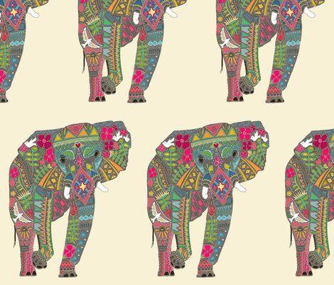 "Want some painted elephant fabric? Elephants in Africa. Read about them in ""Ivory Wild"" a Novel. http://www.amazon.com/Ivory-Wild-Trilogy-Book-ebook/dp/B00MAU19KI/ref=sr_1_1?s=digital-text&ie=UTF8&qid=1409500477&sr=1-1&keywords=Ivory+Wild"
