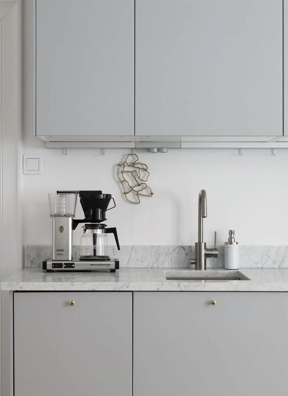 Interior Trends Grey Kitchen Cabinets Minimalist Kitchen