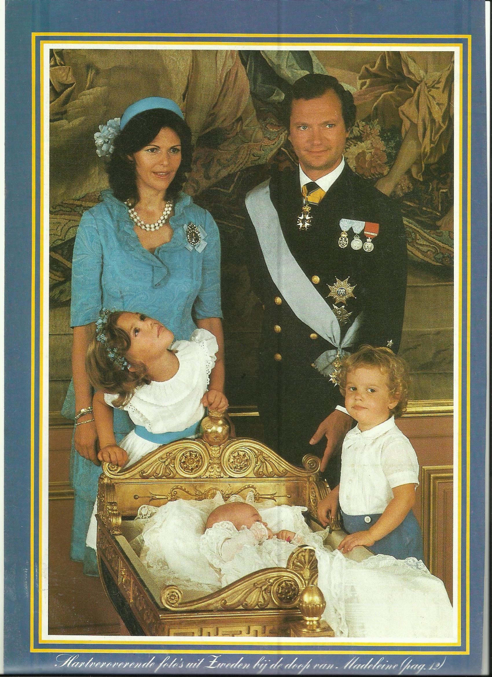 Doop Van Prinses Madeleine Van Zweden Royals Sweden