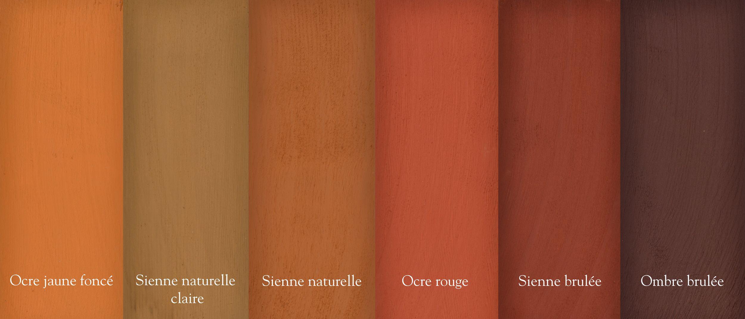 La peinture la farine une peinture maison facile pr parer n - Couleur terre de sienne ...
