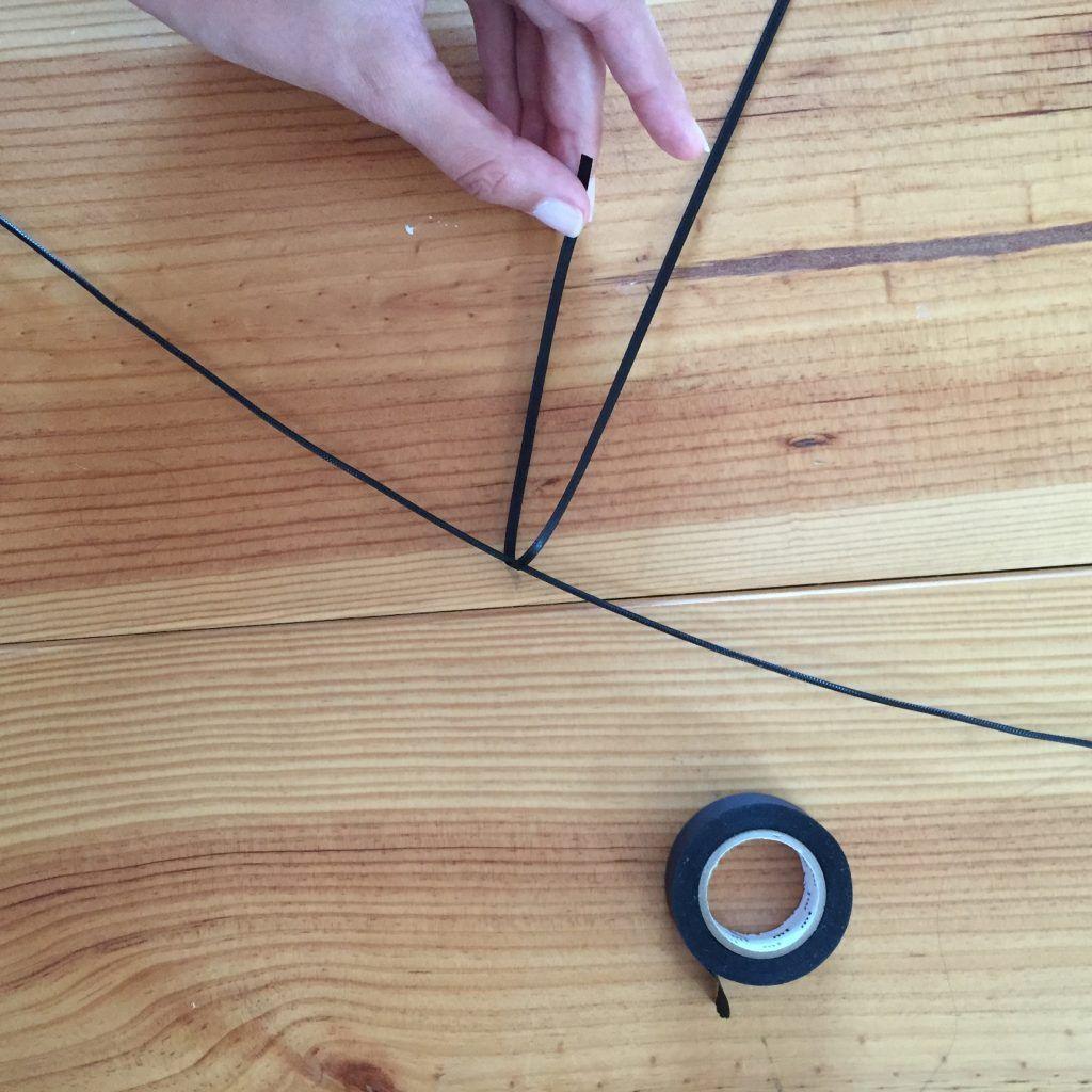 cette suspension homemade est partie de la profonde. Black Bedroom Furniture Sets. Home Design Ideas