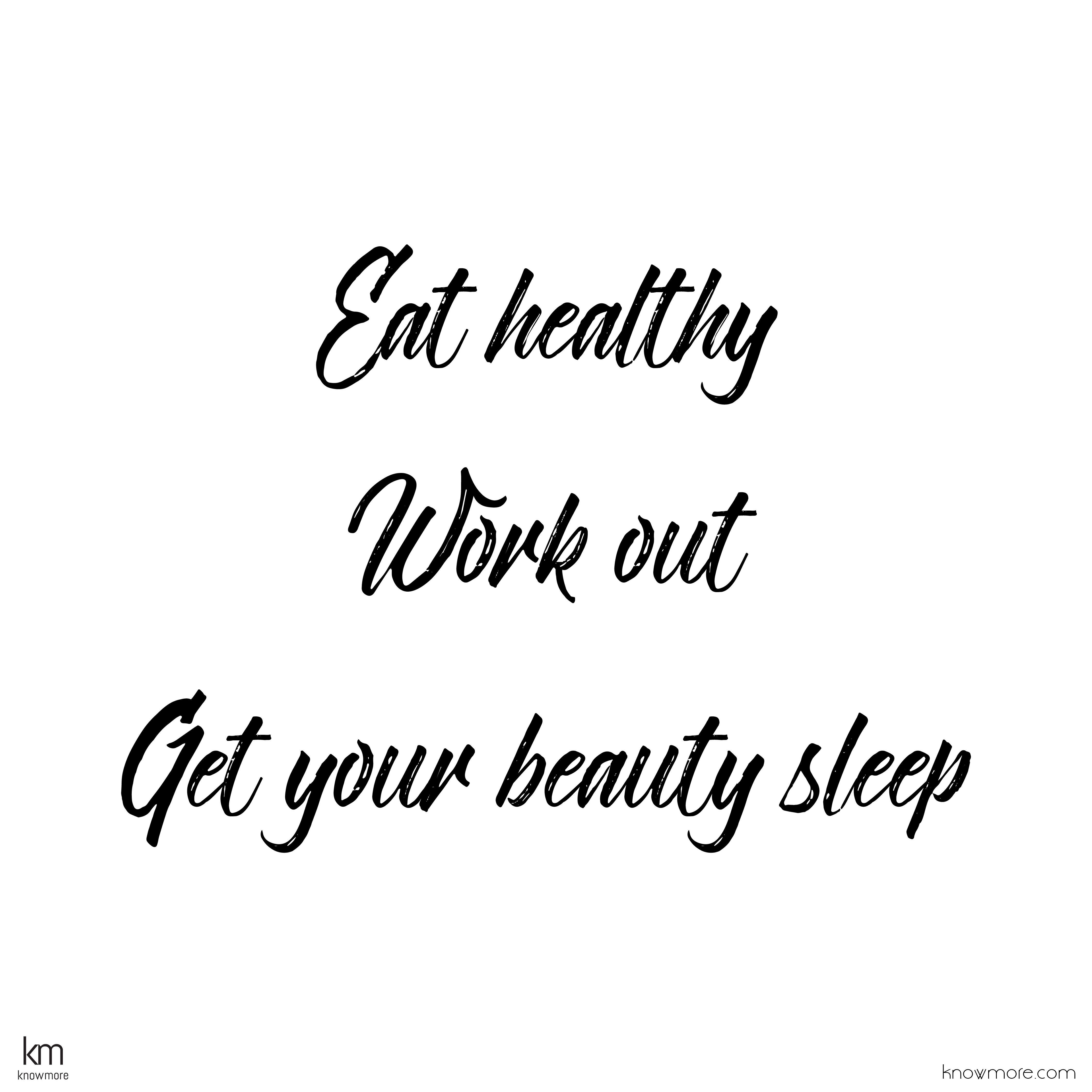 Sleep health quotes