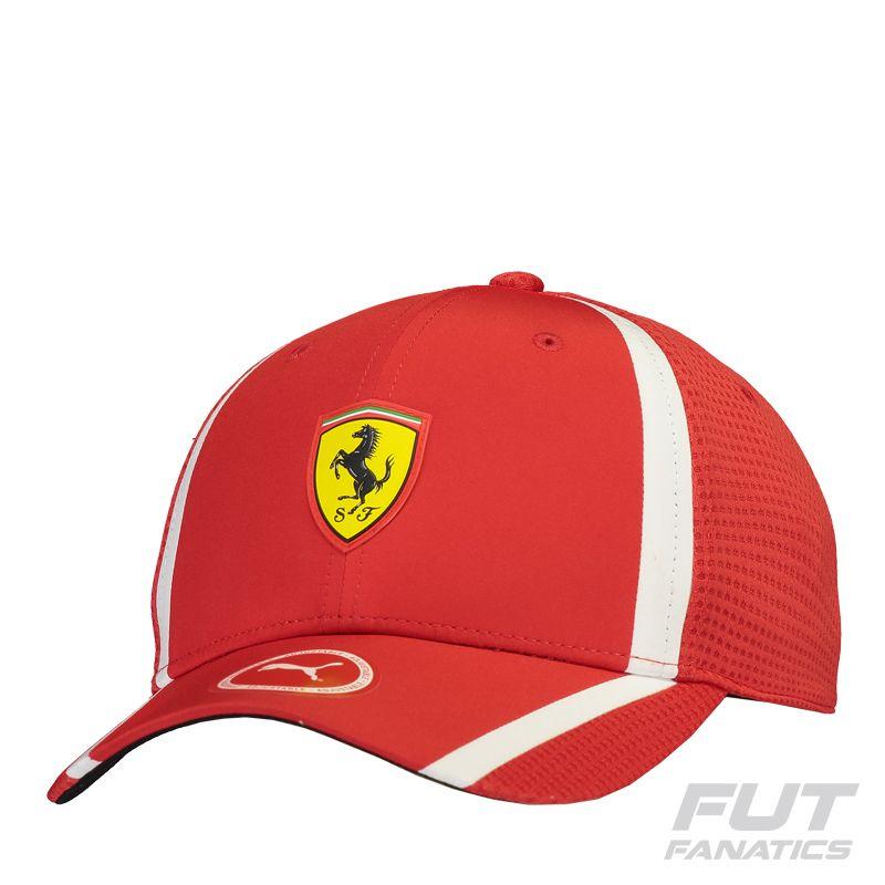 Boné Puma Ferrari Redline Fanwear Vermelho Somente na FutFanatics você  compra agora Boné Puma Ferrari Redline Fanwear Vermelho por apenas R   89.90. Bonés. 4cd2ba1dc41a1