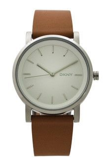 NY2339 Soho Light Brown Leather Strap Watch by DKNY (Women)  e54fc8eee6