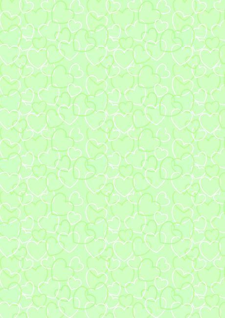 valentines day scrapbook paper green heart background