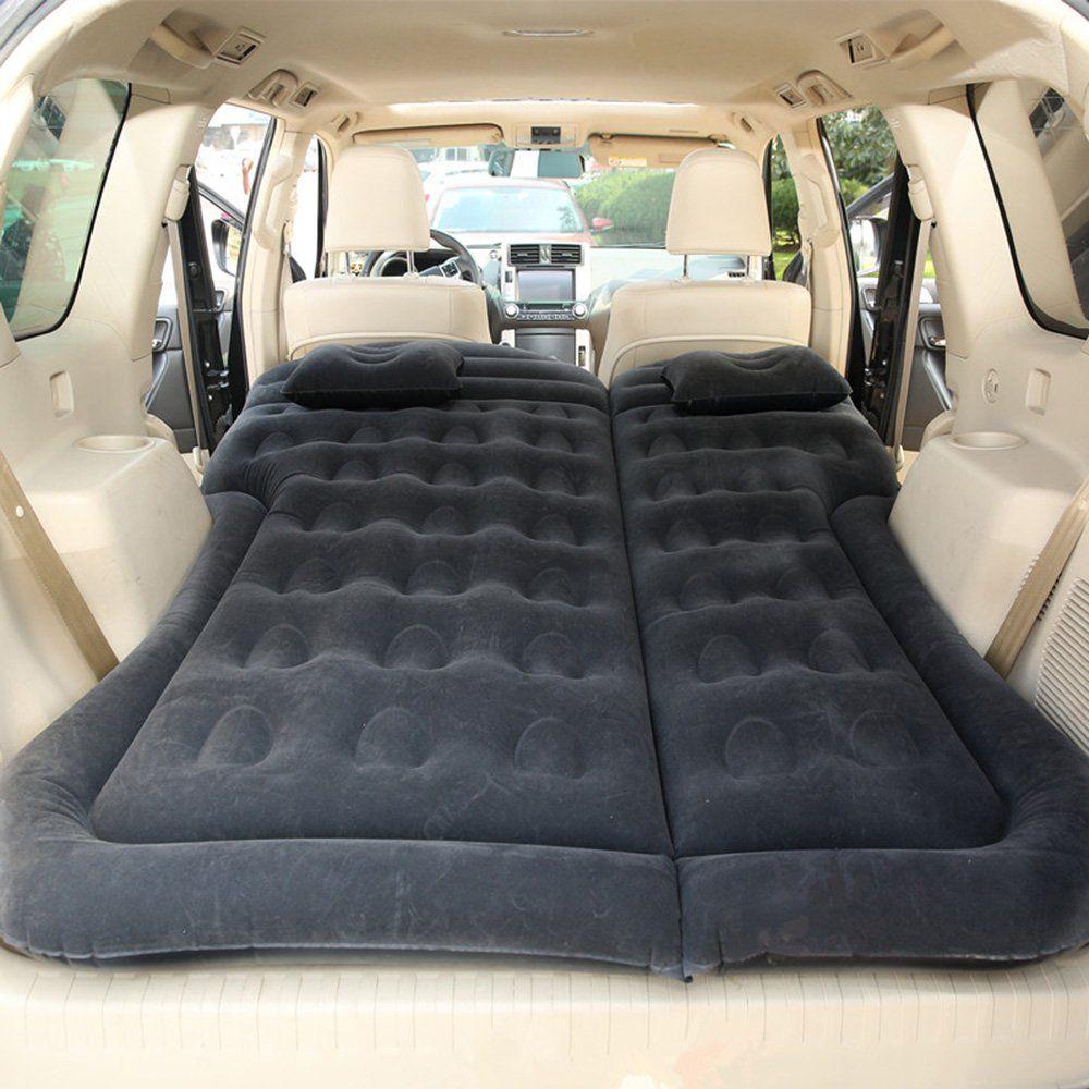 Car Inflatable Bed Air Mattress Universal Suv Car Travel Sleeping Pad Outdoor Camping Mat Walmart Com In 2020 Car Mattress Car Air Mattress Camping Bed