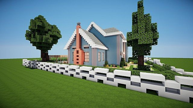Suburban House Project Minecraft Houses Minecraft House Designs