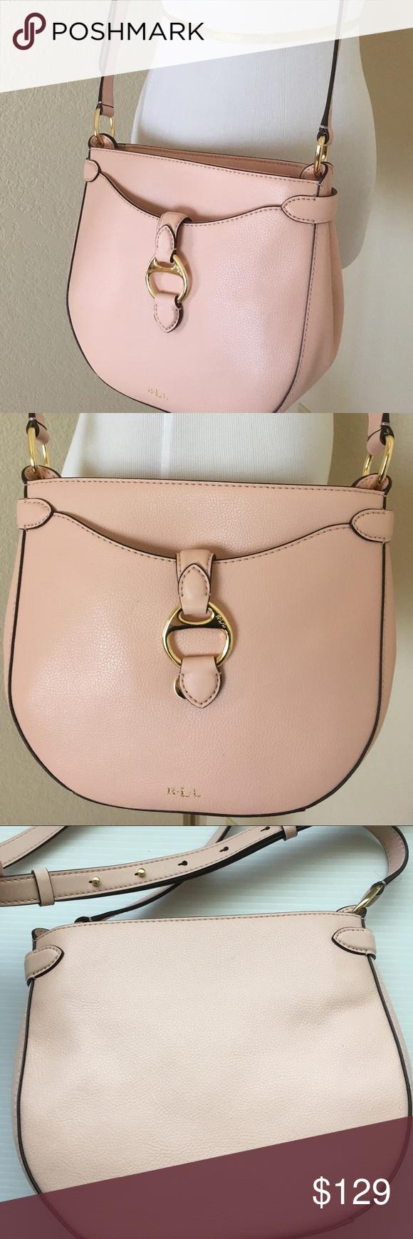 Spotted while shopping on Poshmark  Ralph Lauren Pink cross body leather bag  new!  poshmark  fashion  shopping  style  Ralph Lauren  Handbags 42d93f0552