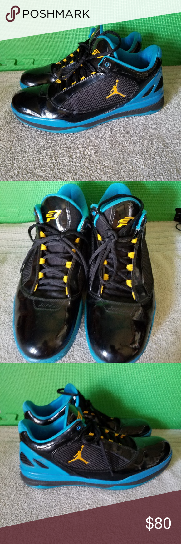 c64a4624f01 Nike Jordan Chris Paul 2 Quick Basketball Shoes Size 13. Good overall  condition