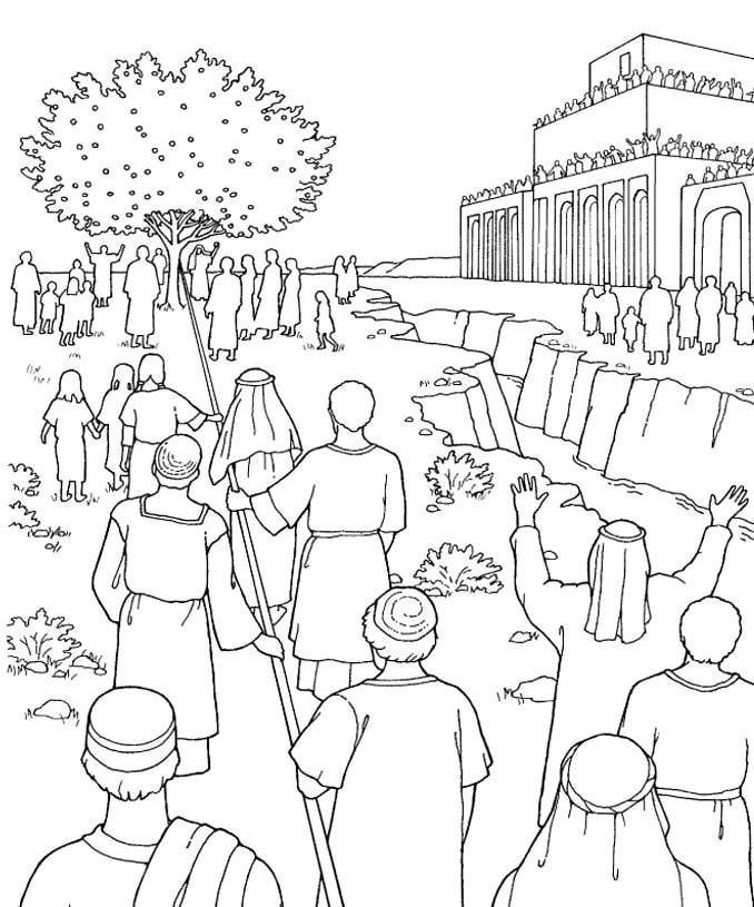 Angels Are Beings Of Light Lds Coloring Pages Lehis Dream Lds Clipart