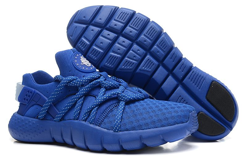 Nike Air Huarache 2015 Nm Womens Mens Sapphire Blue Sneakers Free Shipping