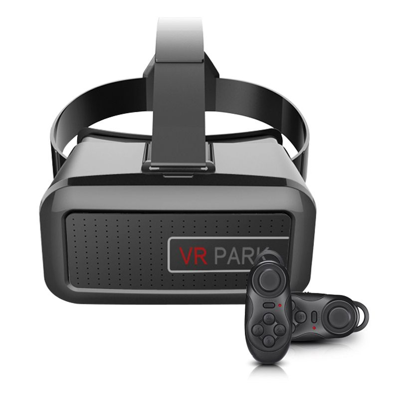 Aliexpress Com Buy Vr Park V2 Vr Box Park 3d Glasses Google Cardboard For Vitual Reality Headset Black Blue Virtual Reality Glasses Black Bluetooth Vr Box