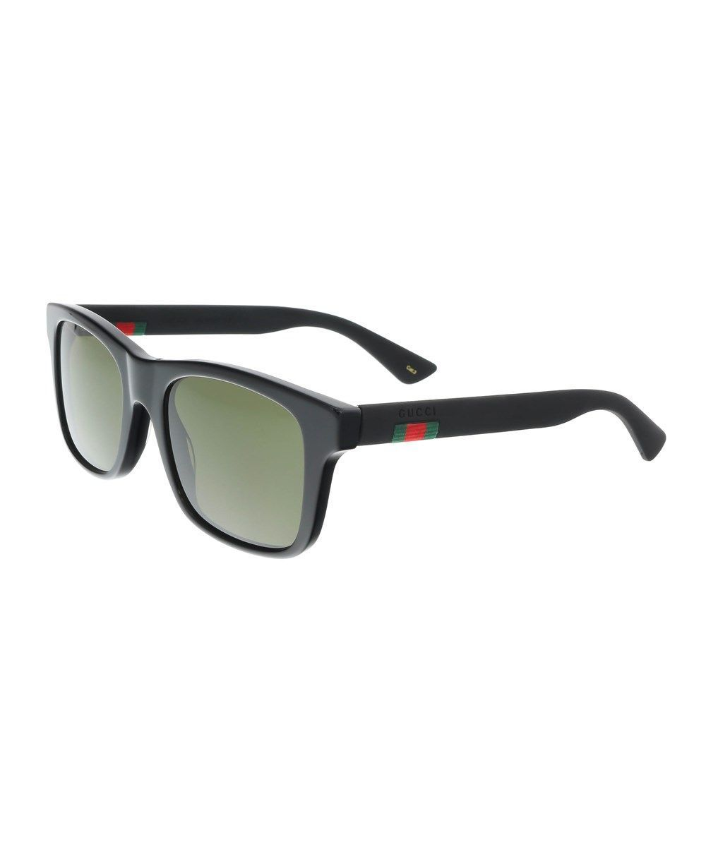 1f1c3d9b7e GUCCI Gg0008S 001 Black Square Sunglasses'. #gucci #sunglasses ...