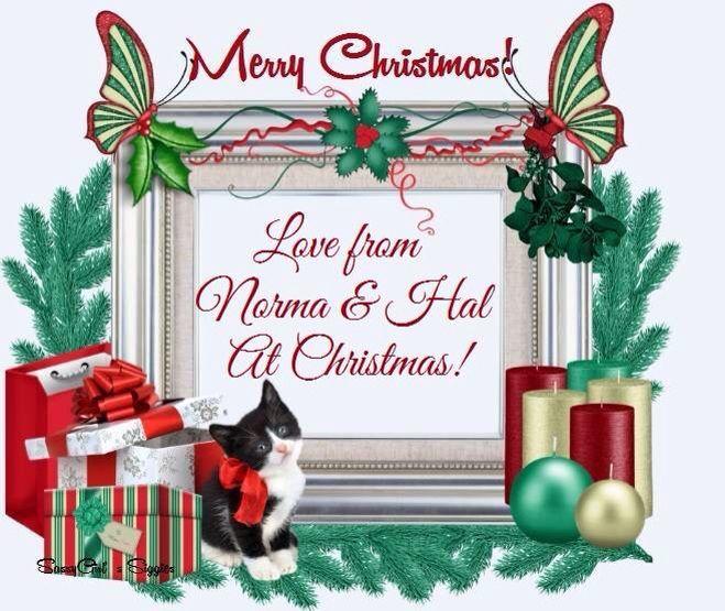 Merry Christmas My Dear Friend Holiday Christmas