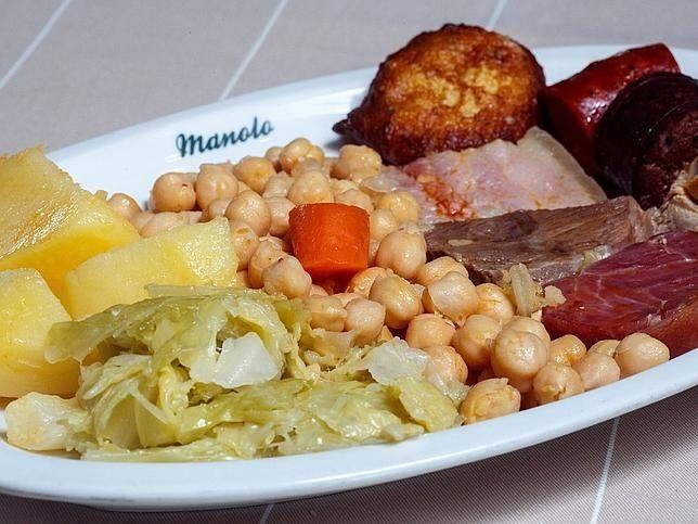 La aut ntica receta del cocido madrile o y los 10 mejores - Cocina navidena espanola ...