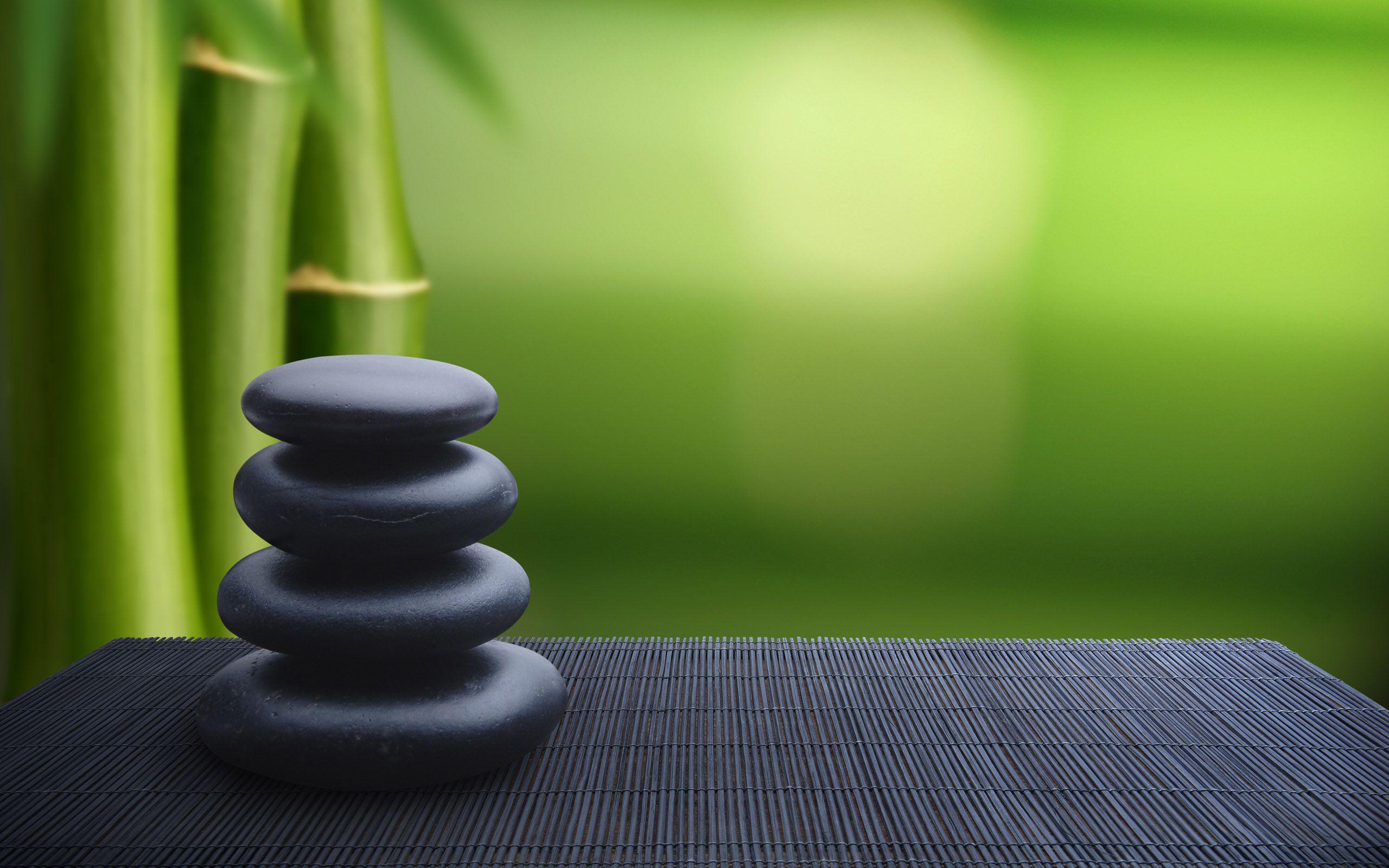 Japan Balance Bamboo Rocks Zen Wallpaper 584672 Wallbase Cc Zen Wallpaper Zen Meditation