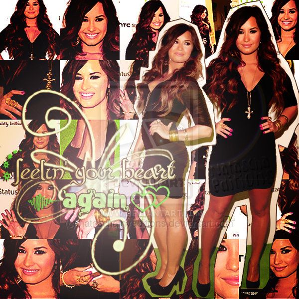 Demi Lovato blend 31 by ~nataschamyeditions on deviantART