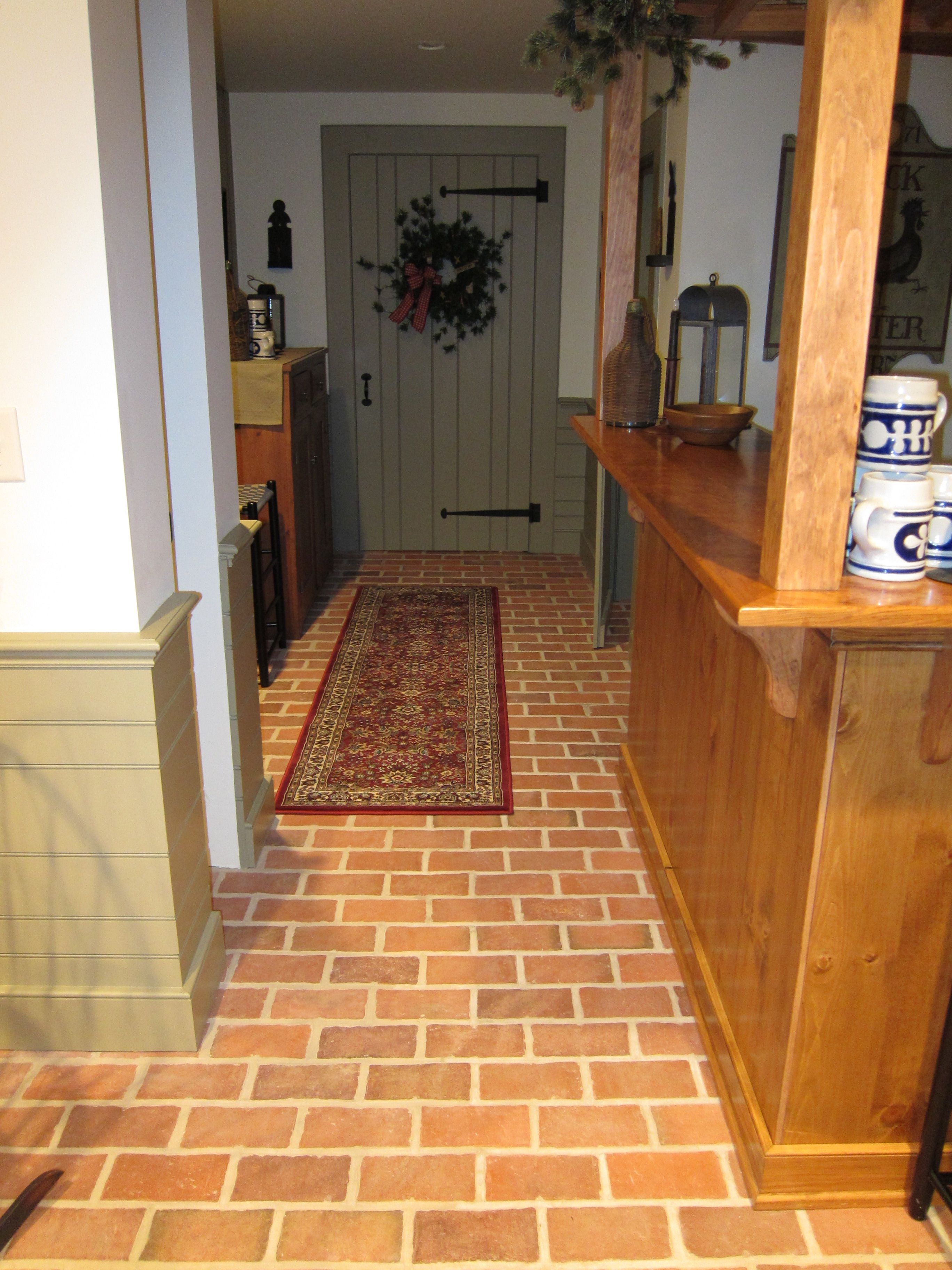 Wrights ferry brick tile kitchen floor marietta color mix wrights ferry brick tile kitchen floor marietta color dailygadgetfo Images