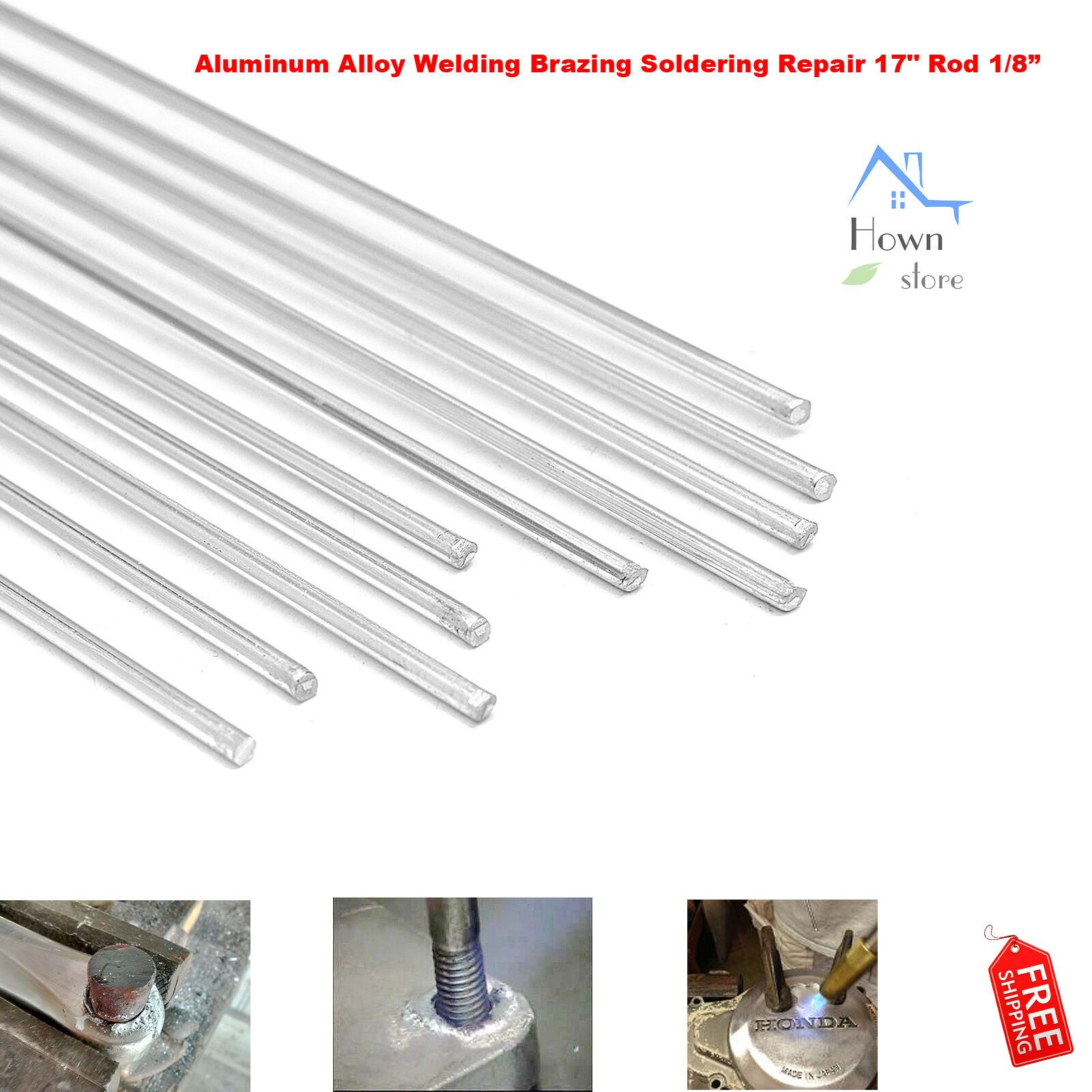 Aluminum Alloy Welding Brazing Soldering Repair 17 Rod Brazing Welding Aluminium Alloy