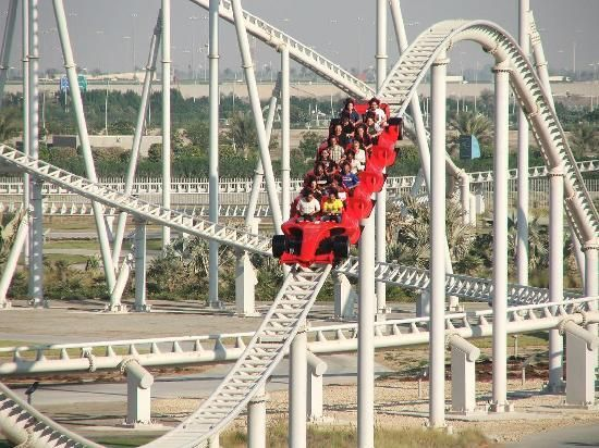 We Dare You To Try This Www Yasisland Ae Ferrari World Ferrari World Abu Dhabi Scary Roller Coasters
