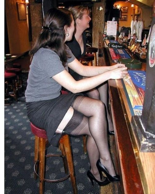 Redhead lesbians wife flashing stocking tops vega porn