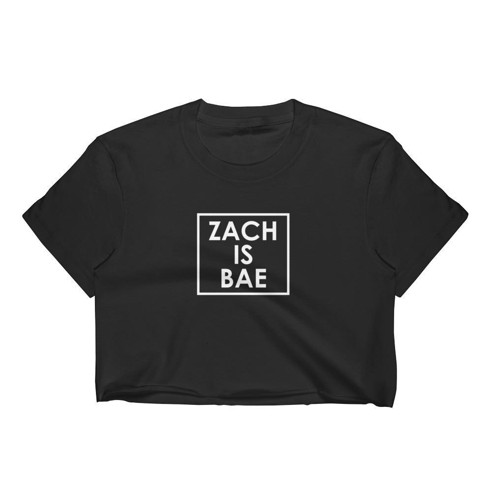 08849e6d Zach Is Bae Women's Crop Top Why Don't We WDW zach herron jack avery daniel  seavey jonah marais corbyn besson 8 letters