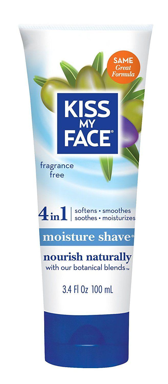 Kiss My Face Moisture Shave Shaving Cream Olive And Aloe Fragrance