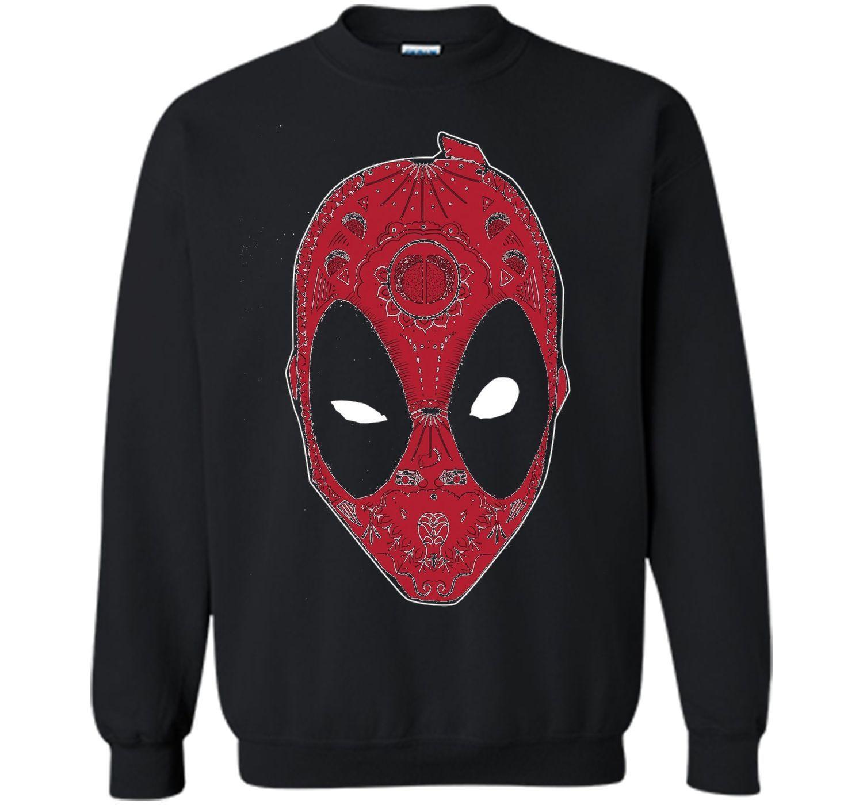 Marvel Deadpool Sugar Skull Graphic T-Shirt