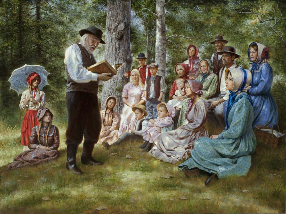 Sermon in the woods