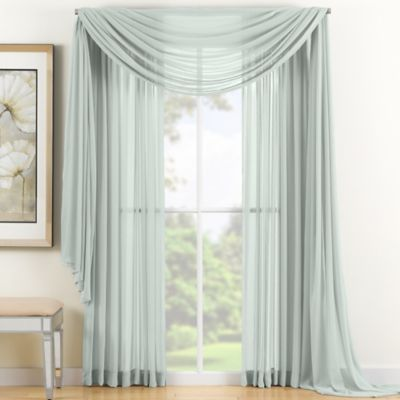 Admirable Reverie 95 Sheer Window Curtain Panel In Seafoam Products Download Free Architecture Designs Pushbritishbridgeorg
