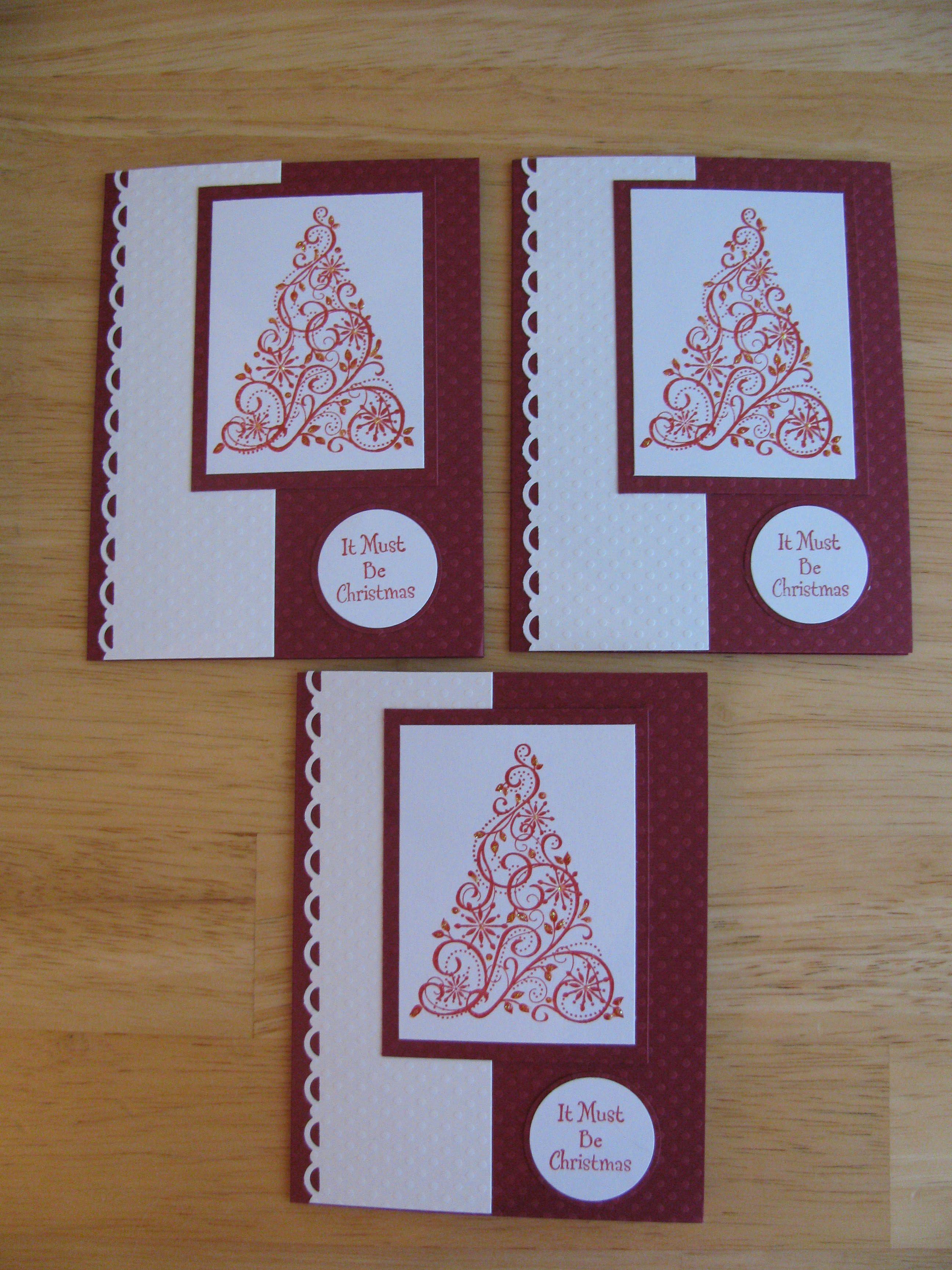 Charming Card Making Ideas Christmas Part - 14: Stampin Up Card Ideas | Stampin Up Christmas Cards | Karenu0027s Cards U0026 Ideas
