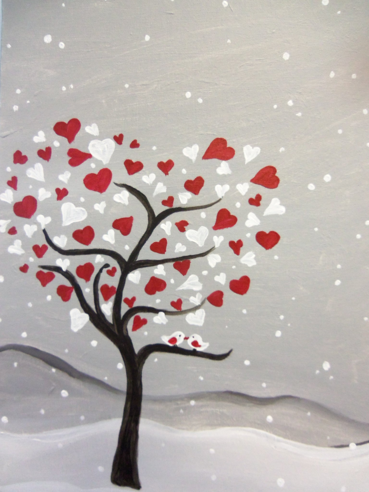 Pinot S Palette Fort Collins Painting Library Tree Art Canvas