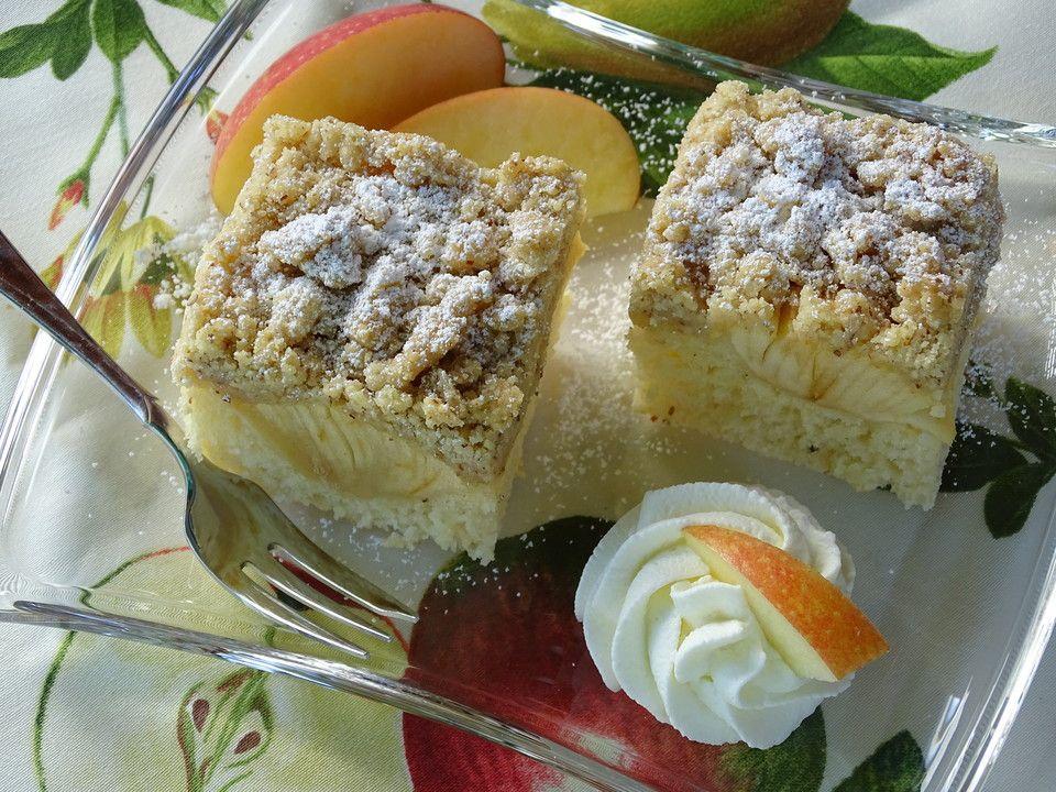 Apfel Buttermilch Kuchen Von Sandy07 Chefkoch Buttermilchkuchen Buttermilch Apfelstreusel