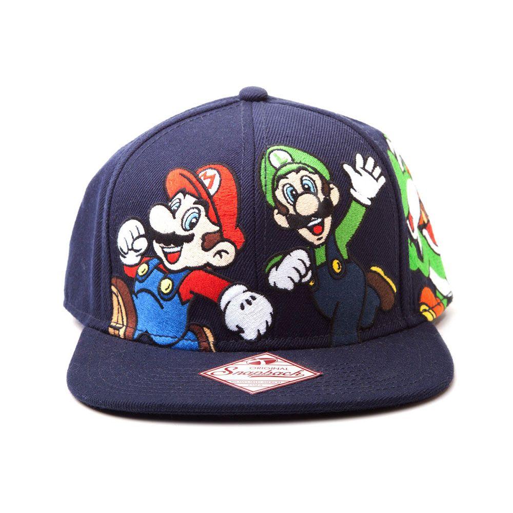 ddb810e4bf3f Gorra Béisbol Mario & Luigi. Super Mario Bros | gorras | Mario y ...