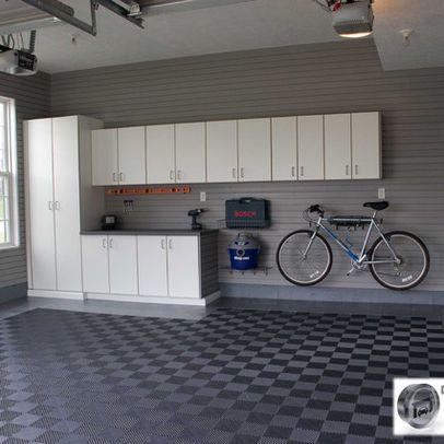 Garage Flooring Design Ideas Pictures Remodel And Decor Garage Interior Garage Design Interior Garage Remodel
