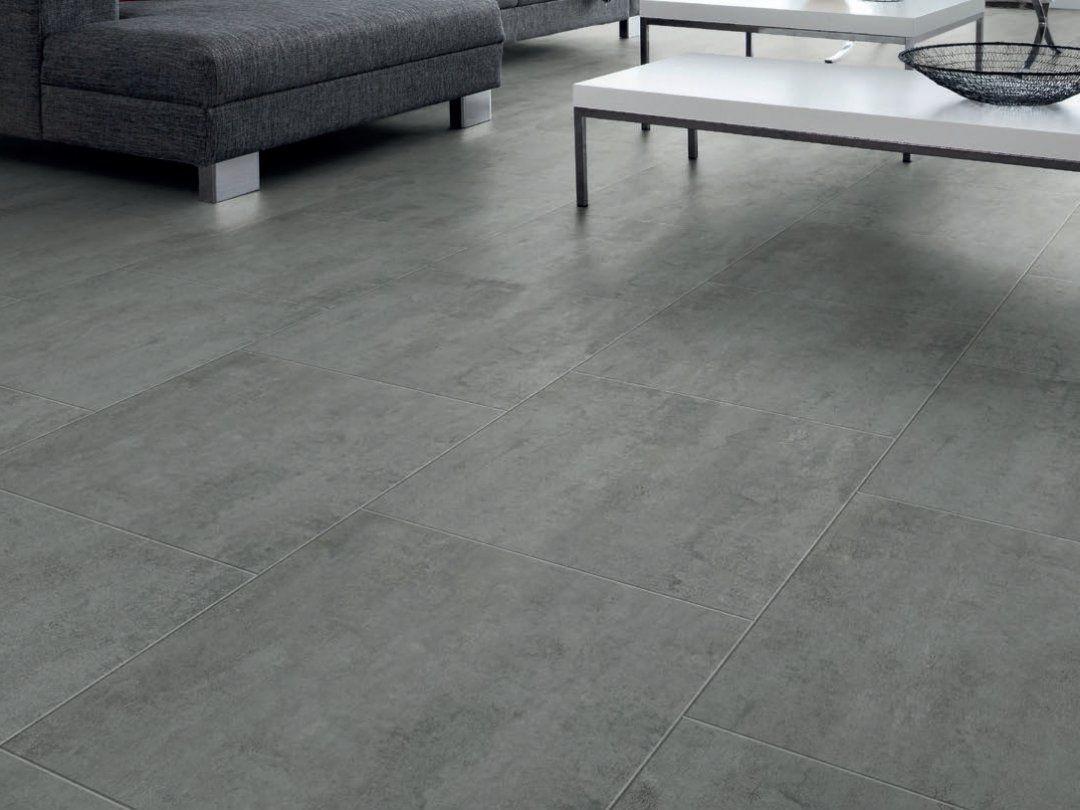 Home Decorators Collection Le Oak In X Luxury Concrete Look Vinyl Tile Floor Tiles Linoleum That Looks Like Stained Pol Concrete Floors Flooring Vinyl Flooring