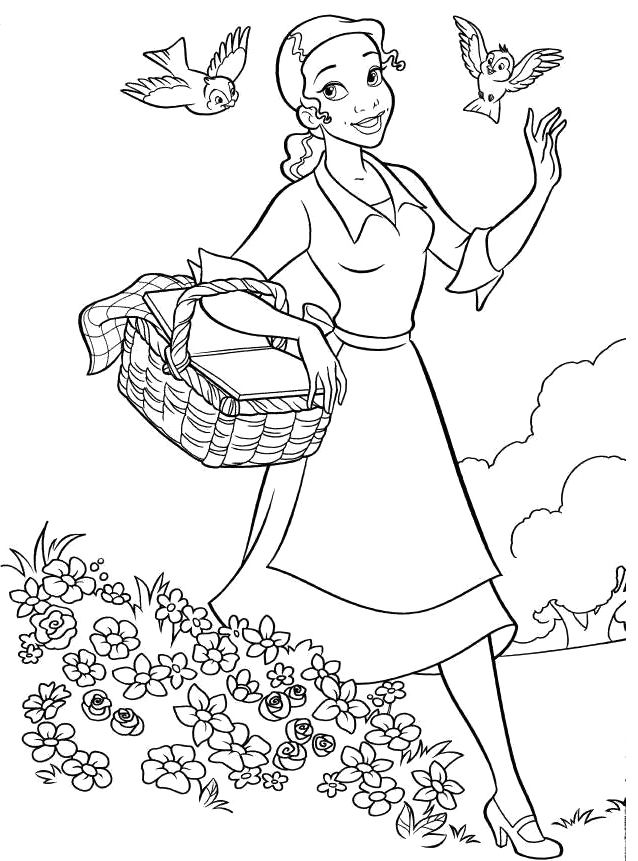 Tiana Wilson Coloring Pages Taken