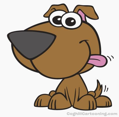 Puppy Dog Cartoon Character Cartoon Dog Girl And Dog Animal Sounds