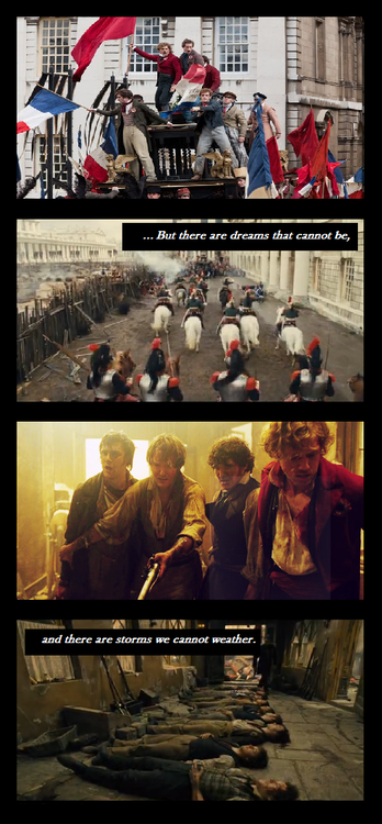 Now life has killed the dream they dreamed...