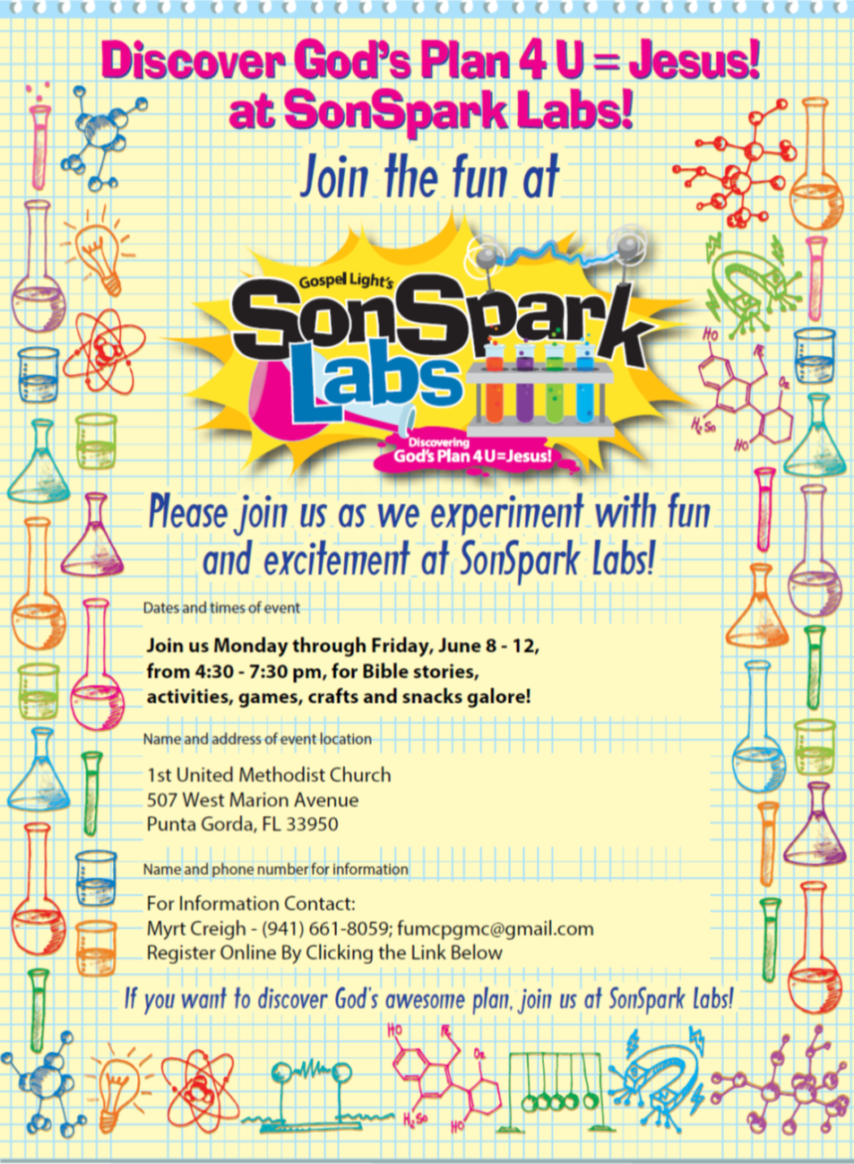 SonSpark Labs VBS