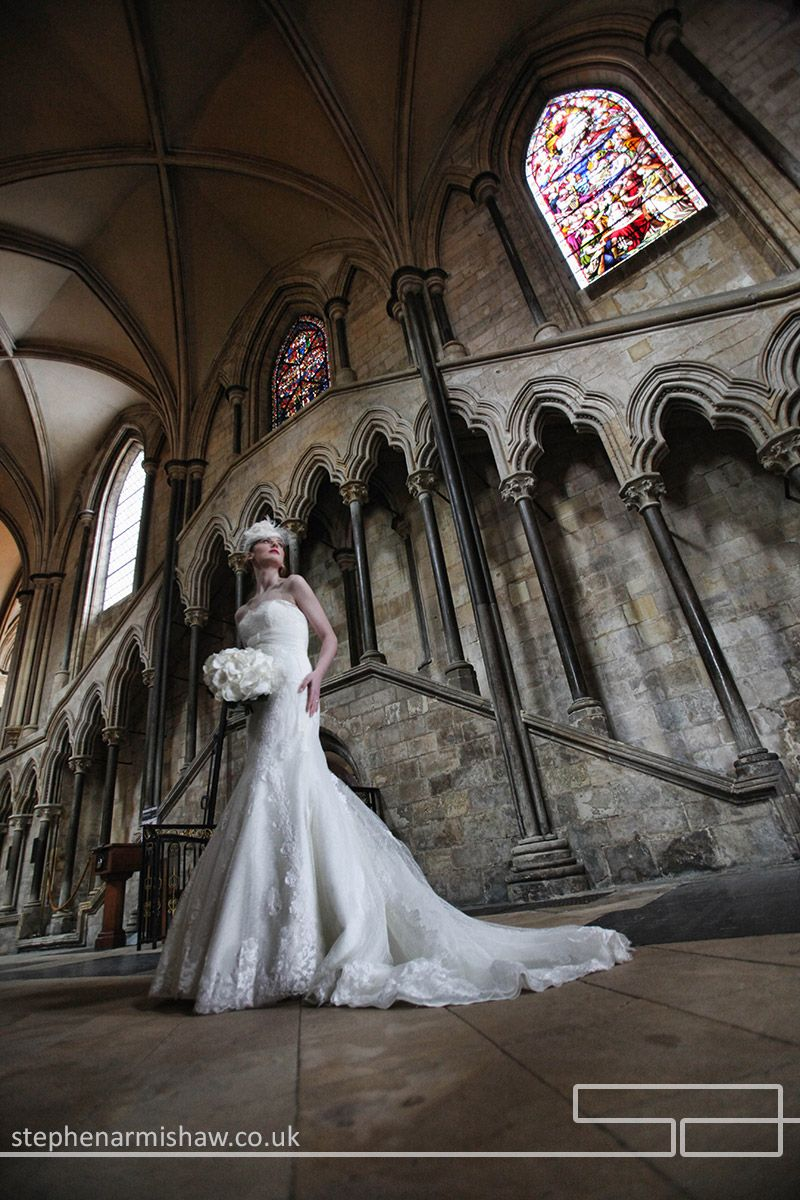 Beverley Minster Wedding Photography Bride In Colour Natural Light Classic Modern Stephen Armishaw Photographer Hull East