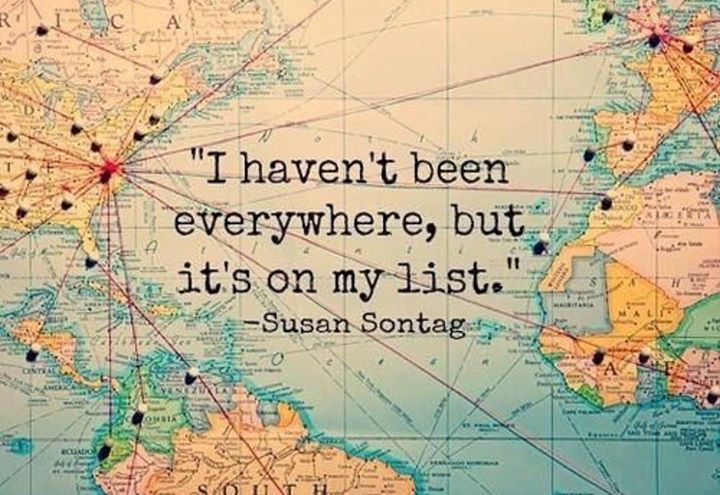 On mine too  who else have some wanderlust??   #wanderlust #lifestyle