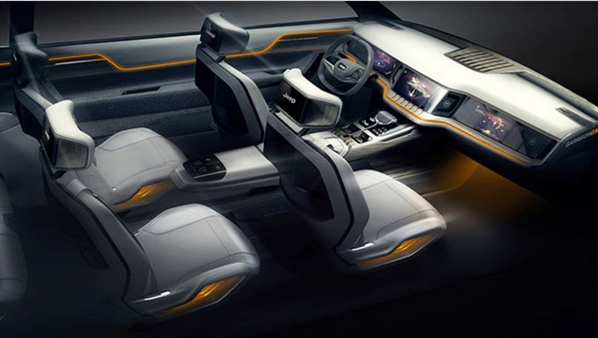 2019 Jeep Yuntu View Design Technology And Prices Jeep Interiors Concept Car Interior Jeep