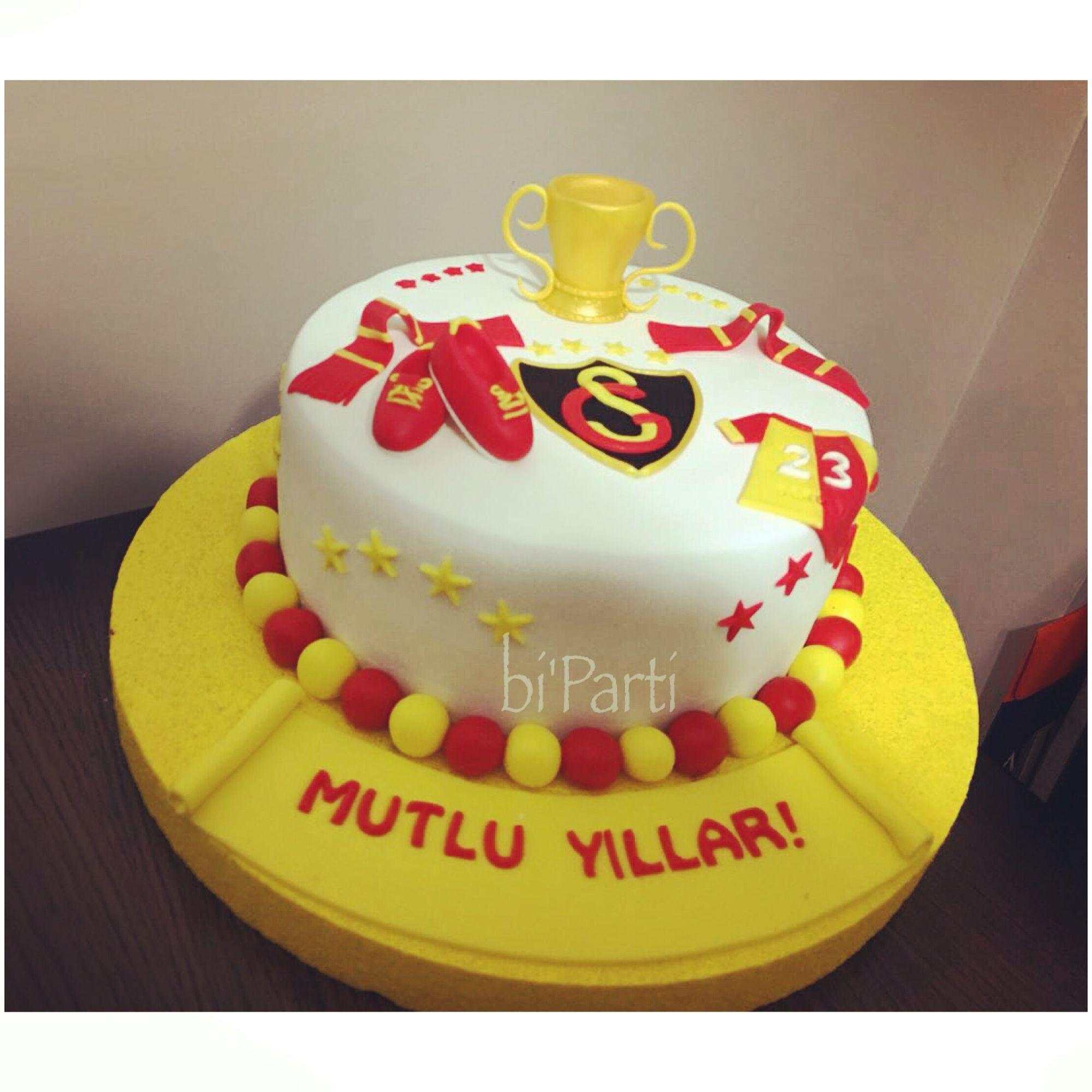 Galatasaray pasta Takım pastası Yetişkin pasta Yetişkin doğum günü